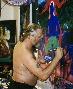 artist James Bertrand, PR studio