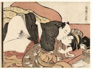 Courtisane-Japanese shunga erotica