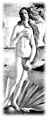Birth of Venus, detail (1485) by Sandro Botticelli