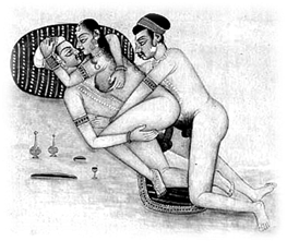 Illustration from Kama Sutra (19thc.?)