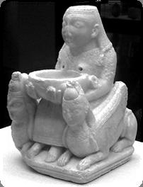 Dama de Galera, Phoenician figure (probably Astarte), 7th c.