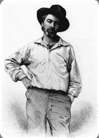 Walt Whitman (1819-1892), American poet & humanist