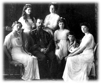 Russian Royal Family (1913), Nicholas II & family Photo: Levitsky Studio, Livadiya
